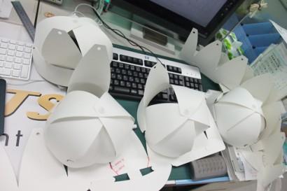 紙製帽子『つくぼー』