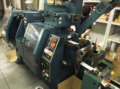 シール印刷機2