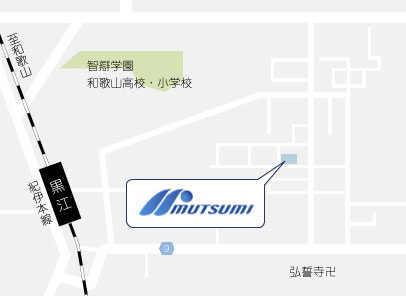 和歌山本社 地図