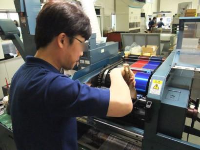 シール印刷機1