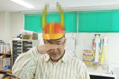 紙製帽子『つくぼー』2
